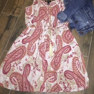 F21 paisley sundress